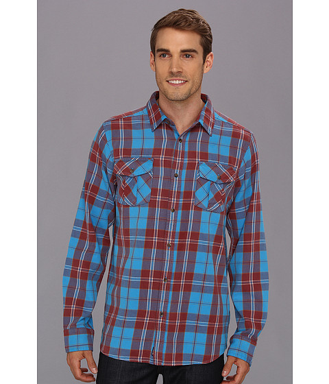 Camasi The North Face - L/S Gallito Flannel - Blue Aster