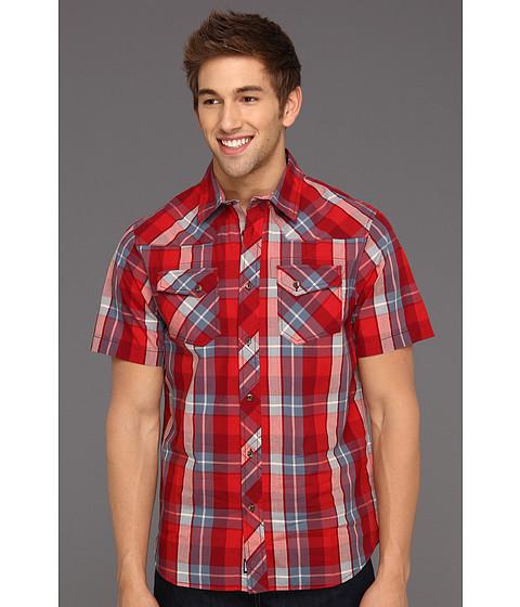 Camasi The North Face - S/S Darden Poplin Shirt - Biking Red