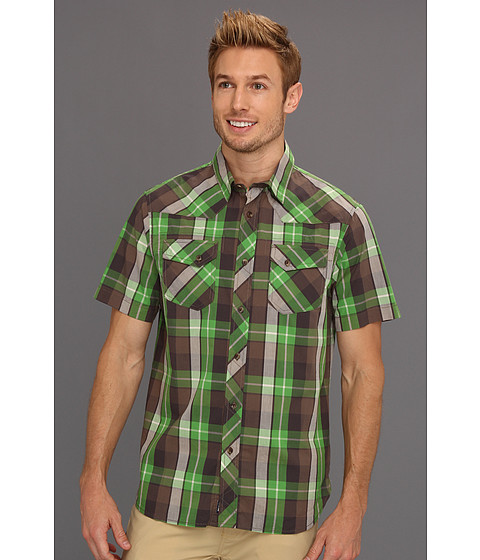 Camasi The North Face - S/S Darden Poplin Shirt - Flashlight Green