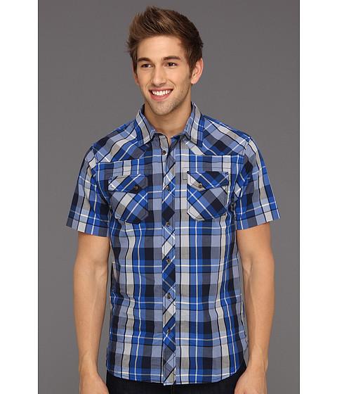 Camasi The North Face - S/S Darden Poplin Shirt - Nautical Blue