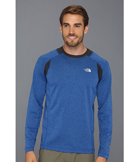 Bluze The North Face - Long-Sleeve Ventana - Nautical Blue/Asphalt Grey