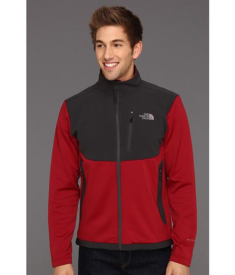 Bluze The North Face - RDT Momentum Jacket - Biking Red/Asphalt Grey