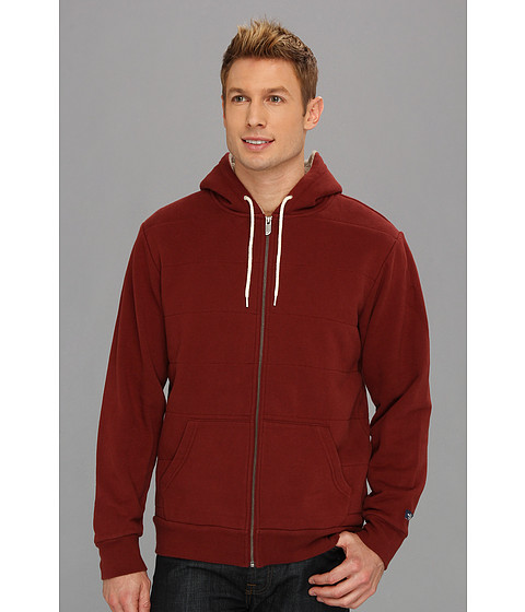 Bluze The North Face - Wadkins Full Zip Hoodie - Barolo Red