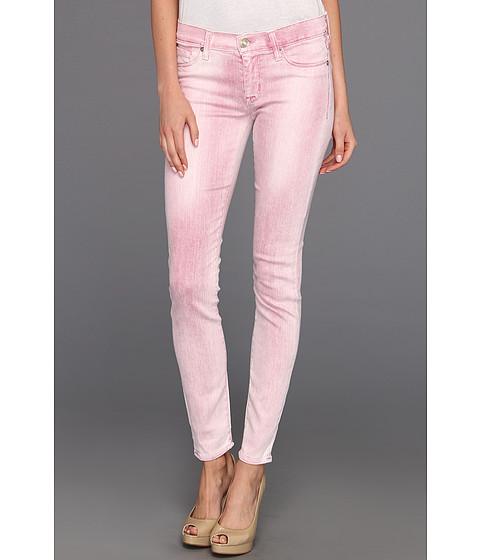 Blugi Hudson - Krista Super Skinny Spray Colors - Gypsy Pink