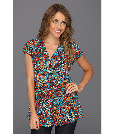 Bluze Tommy Bahama - Electric Blooms Top - Brazil Nut
