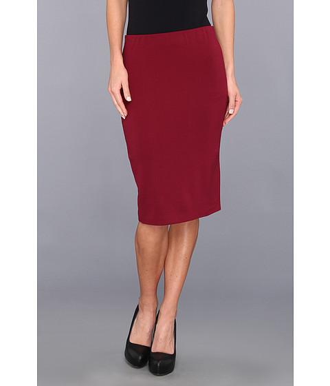 Fuste rsvp - Earla Ponte Pencil Skirt - Cranberry
