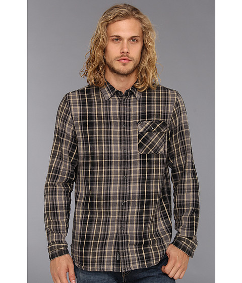 Camasi KR3W - Ace L/S Flannel - Black
