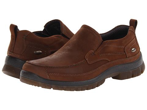 Pantofi Hush Puppies - Outclass Slip On MT - Brown WP Leather
