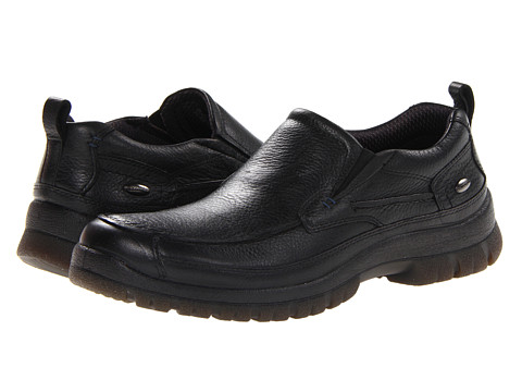 Pantofi Hush Puppies - Outclass Slip On MT - Black WP Leather