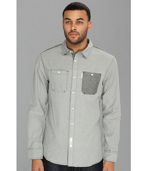 Camasi ECKO - Utility Oxford L/S Woven Shirt - Grey