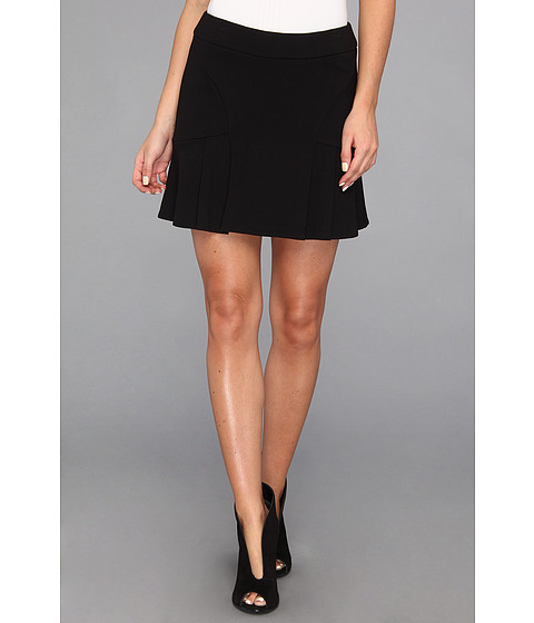 Fuste Juicy Couture - Ponte Skirt - Pitch Black