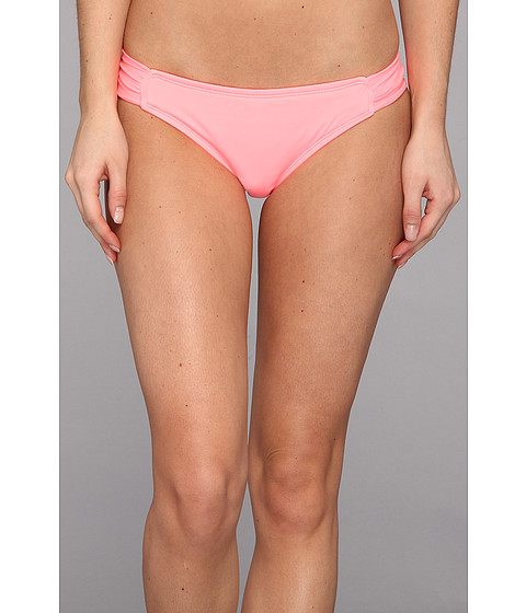 Costume de baie Hurley - One & Only Solids Aussie Tab Side - Pink