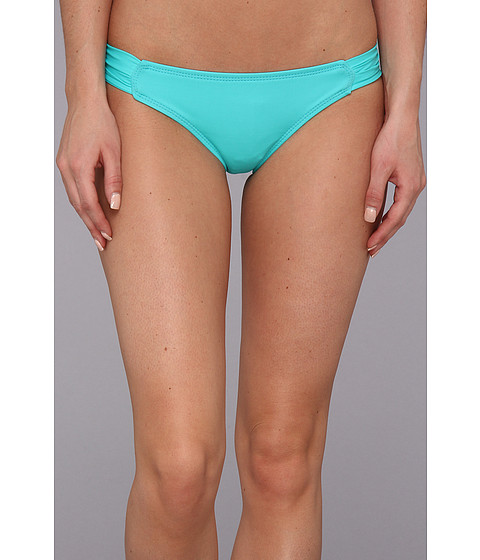 Costume de baie Hurley - One & Only Solids Aussie Tab Side - Aqua