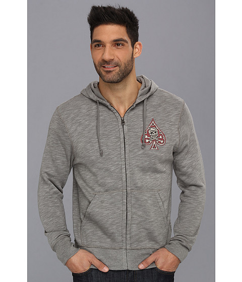 Bluze Lucky Brand - Lucky Spade Hoodie - Charcoal Grey
