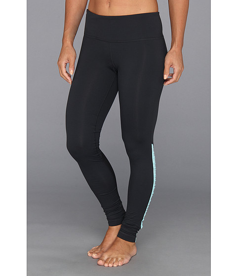 Pantaloni Under Armour - UA Perfect Stripe Legging - Anthracite/Tobago/Metallic Pewter