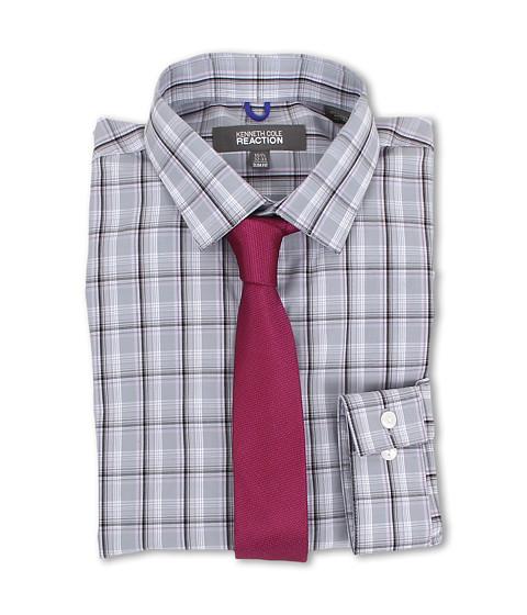 Camasi Kenneth Cole - Slim Fit Plaid Dress Shirt - Eclipse