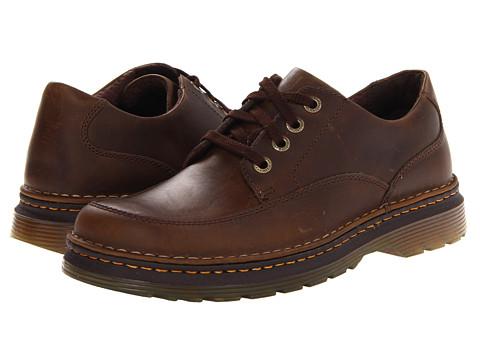 Pantofi Dr. Martens - Layton 4-Eye Shoe - Brown Shorthorn