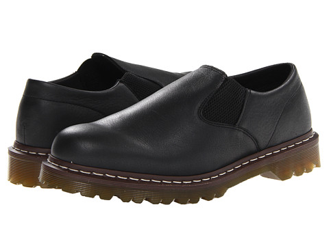 Pantofi Dr. Martens - Gerry Slip On Shoe - Black Geronimo
