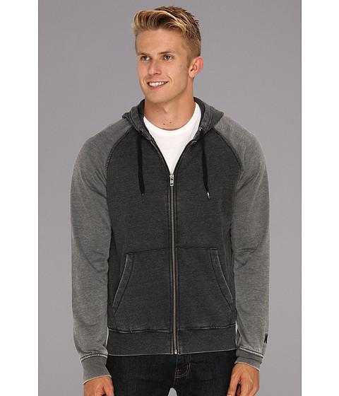 Bluze Hurley - Burnout Raglan Fleece Zip Up - Black
