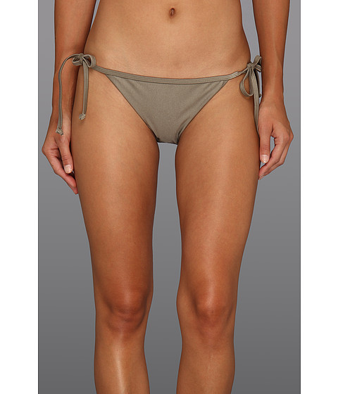 Costume de baie Roxy - Evening Twilight 70s Binded Lowrider Bottom - Frosted Taupe