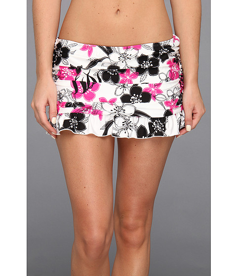 Costume de baie Athena - Delray Skirted Pant - Black/Pink