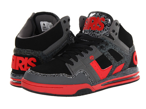 Adidasi Osiris - Rucker - Charcoal/Red/Black