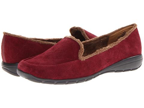 Pantofi Easy Spirit - Arria - Dark Red/Dark Red Suede
