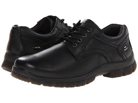 Pantofi Hush Puppies - Outclass Oxford PL - Black WP Leather