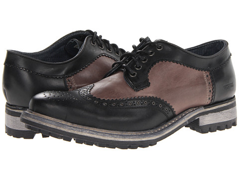 Pantofi Kenneth Cole Reaction - Law-Less - Black Leather
