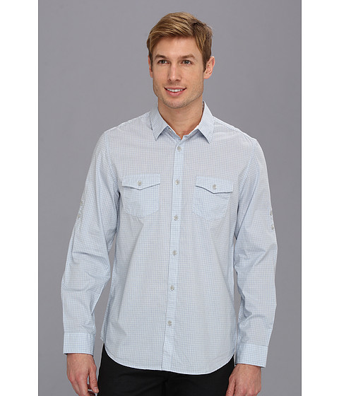 Camasi Calvin Klein Jeans - Check L/S Button Shirt - Frosted Haze
