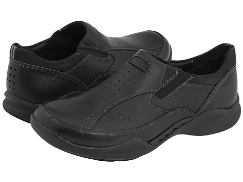 Pantofi Clarks - Wave.Path - Black Leather