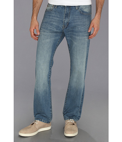 Blugi IZOD - Regular Fit Straight Leg Jean in Light Vintage - Light Vintage