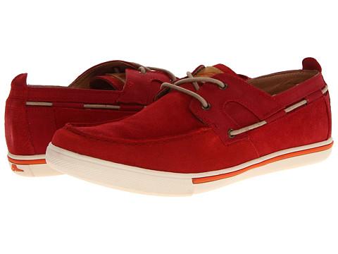Pantofi Tommy Bahama - Calderon - Lehua Red Suede/Wax Canvas