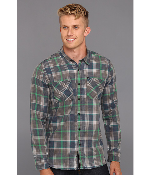 Camasi Quiksilver - Sorry Dude L/S Woven - Charcoal