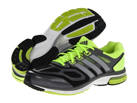 Poza Adidasi Adidas Running - Supernova Sequence 6 - Black/Metallic Silver/Electricity