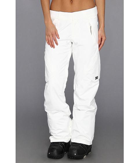 Pantaloni DC - Lace Snow Pant - White