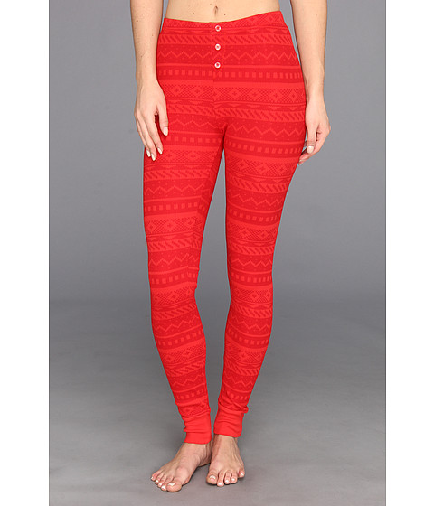 Pantaloni Splendid - Fair Isle Legging - Vermillion
