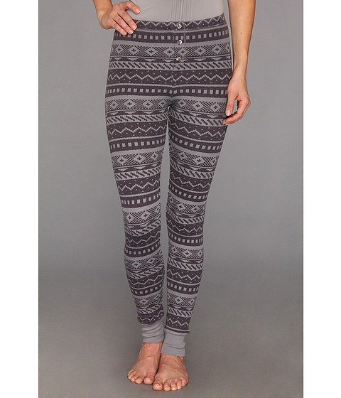 Pantaloni Splendid - Fair Isle Legging - Dark Slate