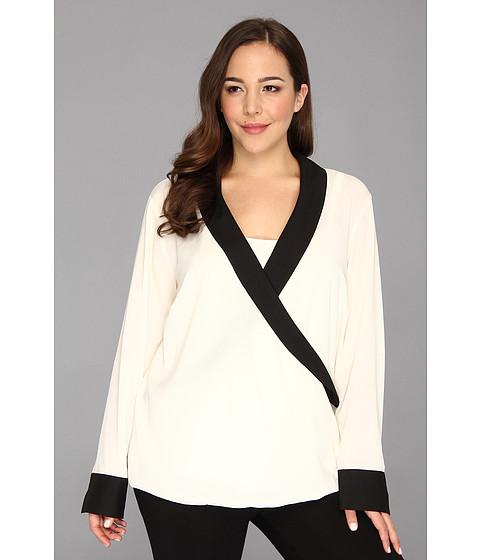 Bluze Calvin Klein - Plus Size Tux-Drape w/ Cami W3JA9585 - Birch
