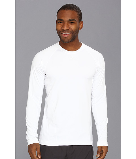 Bluze adidas - CLIMAWARMÃ'® Crew - Graphic Top - White