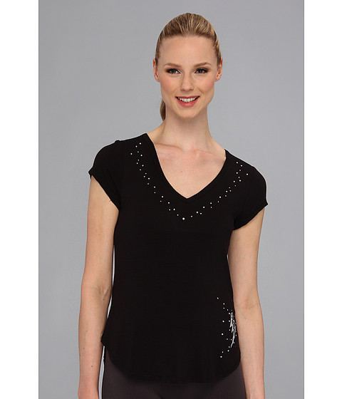 Lenjerie Betsey Johnson - Rayon Knit Tee - Black