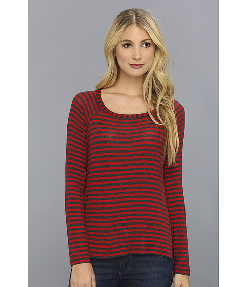 Bluze Splendid - Striped Drapey Lux Pullover - Scarlett