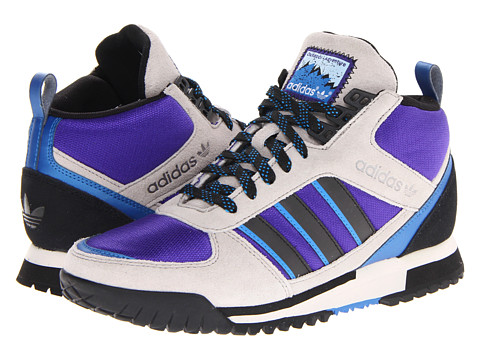 Adidasi Adidas Originals - ZX TR Mid - Chrome/Black1/Blast Purple F13
