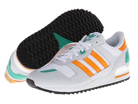 Adidasi Adidas Originals - ZXZ 700 - White/Orange Beauty/Clear Grey