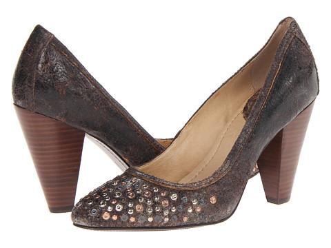 Pantofi Frye - Regina Studded Pump - Chocolate Glazed Vintage Leather