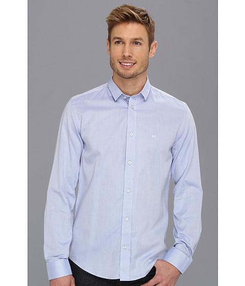Camasi Moods of Norway - Slim Fit Arne Vik Blue Stripe Shirt - Blue Stripe