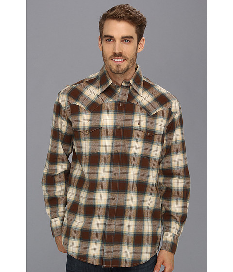 Camasi Stetson - 8928 Brownstone Plaid - Brown