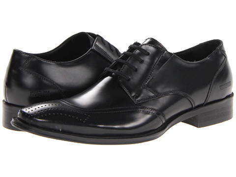 Pantofi Kenneth Cole Reaction - Trick-Le Down - Black Bo