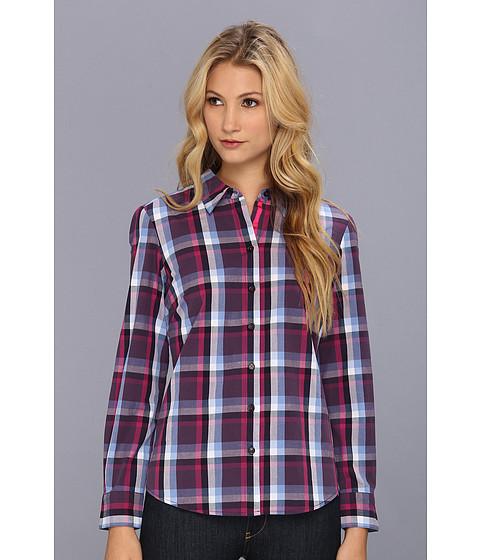 Bluze Christin Michaels - Taya Button-Up Shirt - Blue Plaid