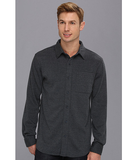 Camasi Merrell - Tucker L/S Button Up - Ink Heather